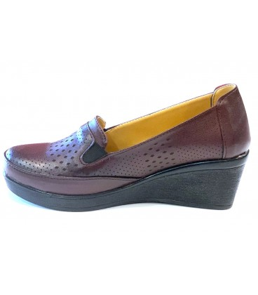 Ladies Shoes 1819 BURGUNDY