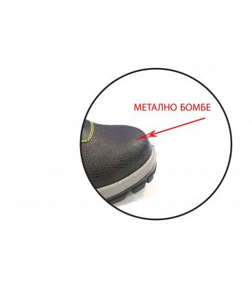 Мъжки работни обувки с метално бомбе A-1