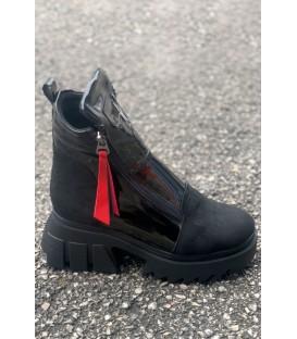 Дамски Боти K18 BLACK-лак